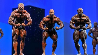VIDEO: Arnold Europe Comparisons