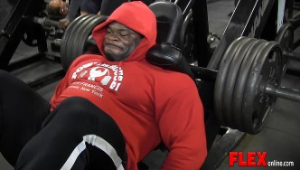 Kai Greene's Leg Workout 6 Weeks from the 2013 Olympia