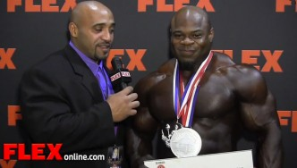 Kai Greene Reflects on the '13 Mr. Olympia