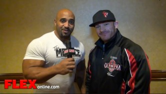 Title Defense: Flex Lewis Exclusive from the '13 Olympia