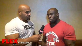 Kevin English is Back at the '13 Olympia