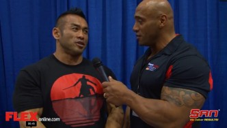 Hidetada Yamagishi on the Eve of the Arnold 212