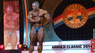 Flex Lewis' Arnold Posing Routine