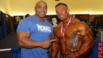 Flex Lewis Wins the Arnold 212!