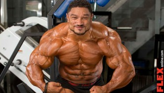 Roelly Winklaar Out of Arnold Classic