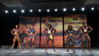 Women's Bodybuilding Final Comparisons & Awards - 2015 IFBB Tampa Pro