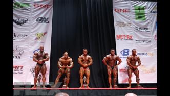 Men's Bodybuilding Super Heavyweight Awards