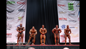 Men's Bodybuilding Super Heavyweight Awards