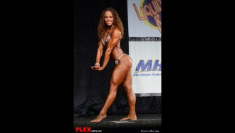 Jodi Marchuck -  Women's Physique B Open - 2013 North American Chapionships