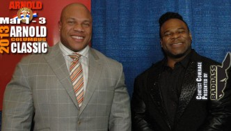 Dennis James Interviews Phil Heath and Kai Greene