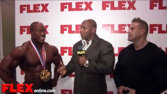 Phil Heath After His 4th Olympia Win!