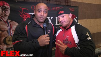 2014 Olympia Meet the Olympians: 2X 212 Showdown Champ Flex Lewis