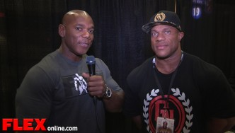 2014 Meet the Olympians: 3X Mr. Olympia Phil Heath