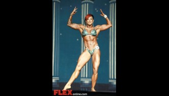 Mikaila Soto - Women's Physique - 2012 Europa Show of Champions