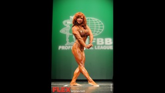 Tammy Patnode - Women's Physique - 2012 NY Pro