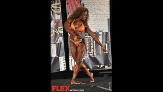 LaDrissa Bonivel - Womens Physique - 2012 Chicago Pro