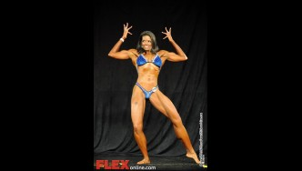 Paula Hannah - Womens Physique C 45+ - Teen, Collegiate and Masters 2012