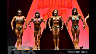 Fitness Comparisons - 2015 IFBB Arnold Europe