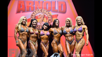 Fitness Awards - 2015 IFBB Arnold Europe
