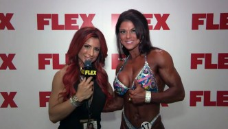 Ann Titone Takes 4th at the 2014 Figure Olympia