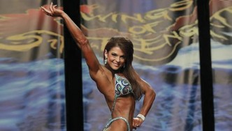 Chicago Pro Figure Winner Ann Titone