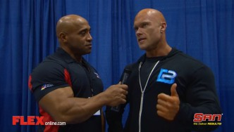 Ben Pakulski Before the '14 Arnold Classic