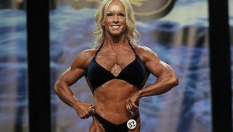 Beth Wachter - Women's Bodybuilding - 2013 Chicago Pro