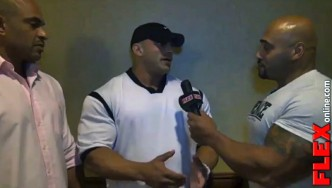DJ Interviews Big Ramy at the 2013 Olympia Athlete Meeting