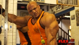 DJ and Big Ramy Train Arms 2 Weeks Out from the NY Pro!