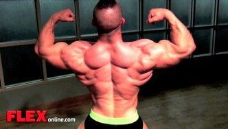 Clayton Johnson Trains Back 10 Days Out From the 2013 NPC USAs