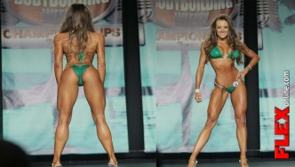 IFBB Bikini Pro Courtney King Winner at 2013 Tampa Pro Interview With Angelica Gonzalez