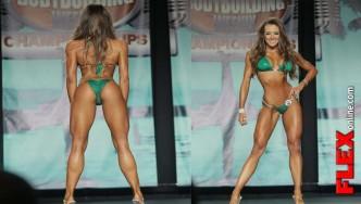 IFBB Bikini Pro Courtney King Winner at 2013 Tampa Pro Interview With Angelica Gonzalez