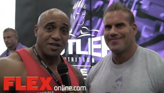 Interview with Jay Cutler at the 2014 Dallas Europa