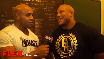 Dennis James Interviews Phil Heath at the Pittsburgh Pro