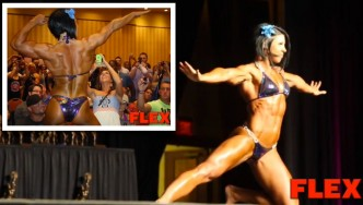 DLB Guest Posing at the Flex Lewis Classic