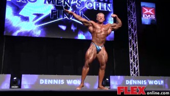 Dennis Wolf's Posing Routine at the 2014 IFBB EVLS Prague Pro