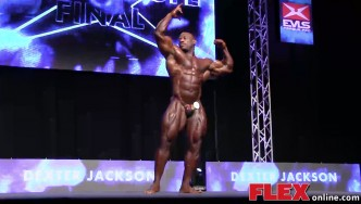Dexter Jackson's Posing Routine at the 2014 IFBB EVLS Prague Pro