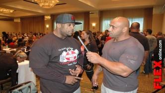 IFBB Pro Essa Obiad Interview at 2013 PBW Tampa