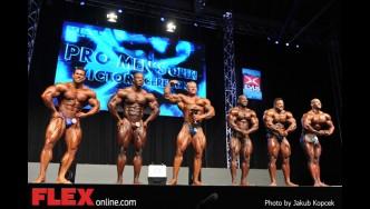 Awards - Men's Bodybuilding - 2014 IFBB Prague Pro