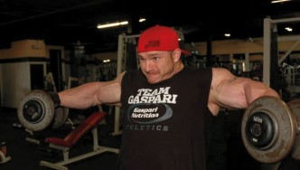 Flex Lewis Shoulder Workout