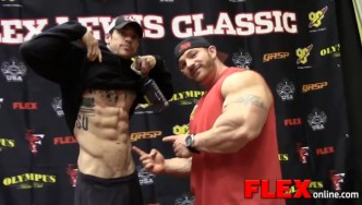 Highlights of the 2014 NPC Flex Lewis Classic