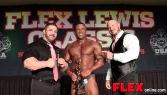 Flex Lewis Classic Overall Champ, John Sanford