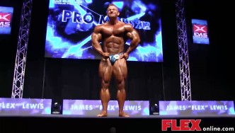 Flex Lewis's Posing Routine at the 2014 IFBB EVLS Prague Pro