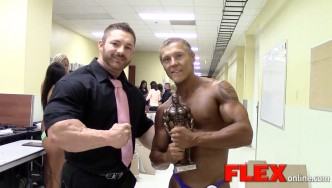 Flex Lewis Interviews Teen Champ Brandon VanNoord