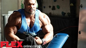 Fred Smalls Trains Chest 3 Weeks Before the 2014 Olympia