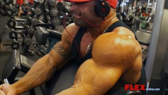 Guy Cisternino 4 Days Out from the NY Pro