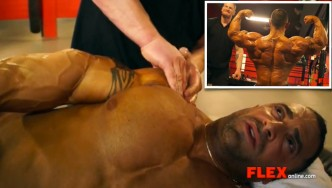 Jimmy Bluff Works His Magic on Guy Cisternino Before the NY Pro