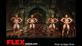 Comparisons - Men's Open - 2012 Europa Supershow Dallas