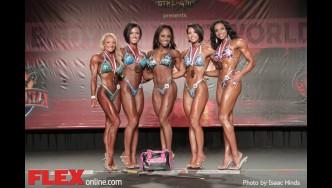 Awards - Figure - 2014 IFBB Tampa Pro
