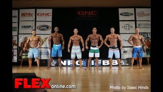 Men's Physique Comparison